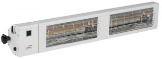 3kw White Infrared Heater with Bluetooth and Low Glare by Burda™