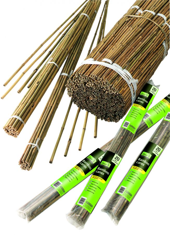 1.8m Bamboo Canes (Pack Of 10)