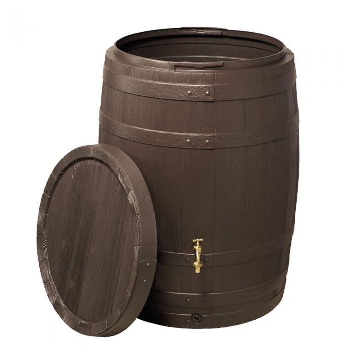 260 Litre Barrica Rain Water Barrel in Brown