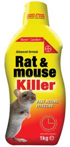 Advanced Formula Rat & Mouse Killer - 400g