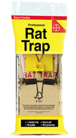 Wooden Rat Trap