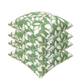 Cotswold Leaf Outdoor Scatter Cushion 45x45cm - Pack Of 4