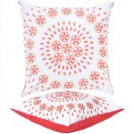 Coral Raj Scatter Cushion by Gardenista