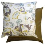 Paisley Olive Scatter Cushion by Gardenista