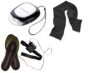Warmawear� Hand Warmer, Heated Insoles and Scarf Set