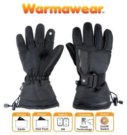 Dual Fuel Battery Heated Ski Gloves - by Warmawear™