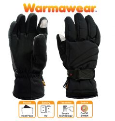 Dual Fuel Deluxe Battery Heated Gloves (Medium) by Warmawear™