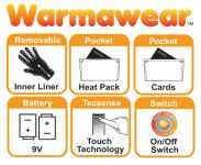 Dual Fuel Battery Heated Sports Gloves by Warmawear�