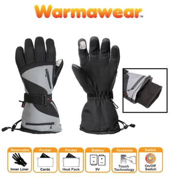 Dual Fuel Battery Heated Sports Gloves by Warmawear™