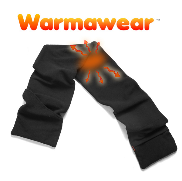 Battery Operated Heated Scarf with USB Connector - by Warmawear™