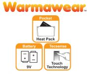 Dual Fuel Battery Heated Glove Liners by Warmawear�