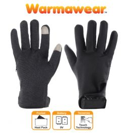 Ladies Dual Fuel Battery Heated Performance Gloves - by Warmawear™