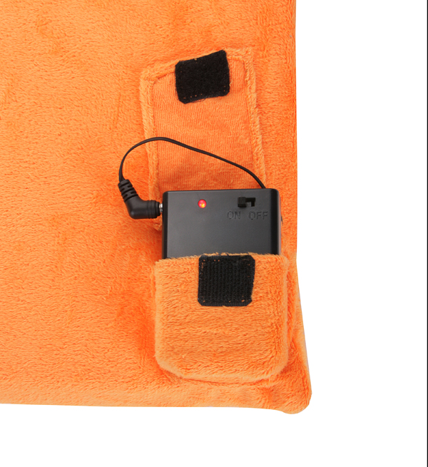 Battery Heated Muff 4 in 1 Hand/Foot/Back Warmer and Cushion - by Warmawear™
