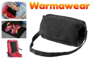 Battery Heated Muff 4 in 1 Hand/Foot/Back Warmer and Cushion with USB Connector - by Warmawear™