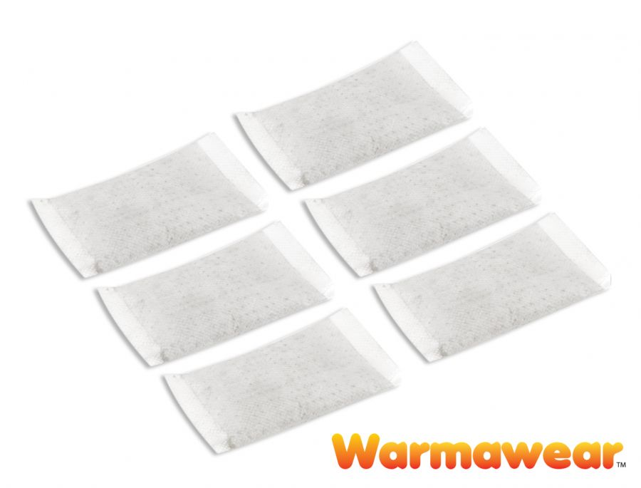 Disposable Heat Packs - 6 Pack - by Warmawear™