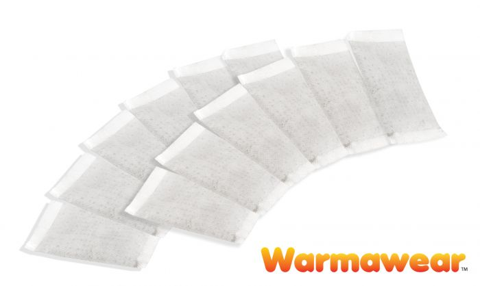 Disposable Heat Packs - 12 Pack - by Warmawear™