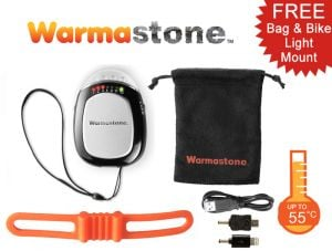 Warmastone™ 4in1 Rechargeable Powerbank Hand Warmer/Torch/Bike Light/Phone Charger