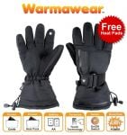 Dual Fuel Burst Power Battery Heated Ski Gloves with Free Heat Packs by Warmawear™