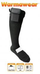 Battery Heated Socks with Dual Fuel Pocket - by Warmawear™