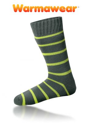 Warmawear� Thermal Socks with Stripes