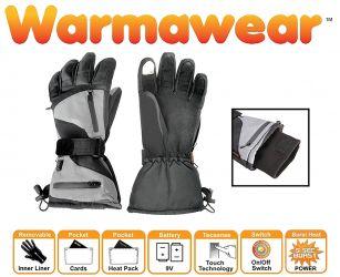 Dual Fuel Burst Power Battery Heated Sports Gloves with 3 Heat Settings - by Warmawear™