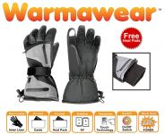 Warmawear™ Dual Fuel Burst Power Battery Heated Sports Gloves with 3 Heat Settings and Free Heat Packs