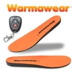 Warmawear� Deluxe Wireless Rechargeable Battery Waterproof Heated Insoles with Remote Control