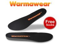 Warmawear™ Wireless Rechargeable Battery Waterproof Heated Insoles with Free Thermal Socks