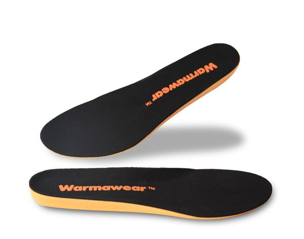 Warmawear™ Battery Powered Waterproof Rechargeable Heated Insoles - Bluetooth Controlled