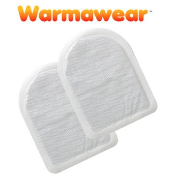 Warmawear™ Disposable Heated Toe Warmers (Pair)