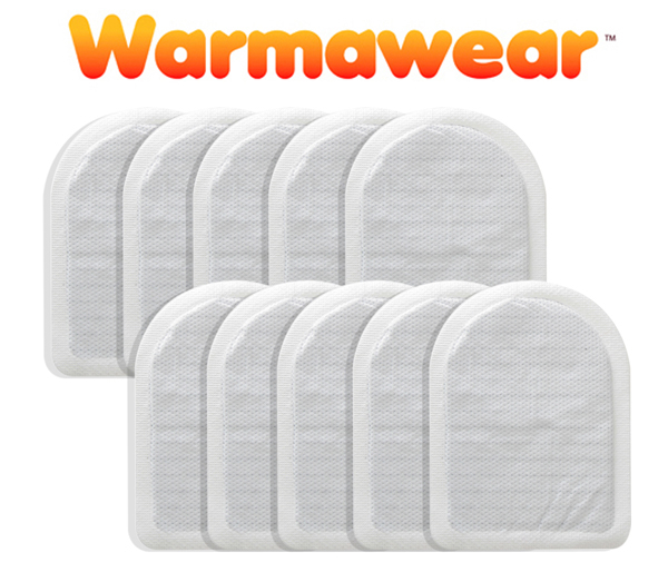 Disposable Heated Toe Warmers - Ten Pairs - by Warmawear™