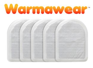 Disposable Heated Toe Warmers - Five Pairs - by Warmawear™