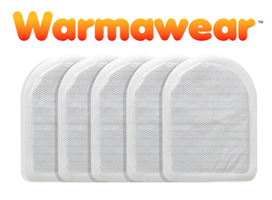 Warmawear™ Disposable Heated Toe Warmers - Five Pairs