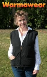 Ladies' Battery Heated Waistcoat Jacket - by Warmawear™