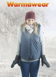 Ladies' Battery Heated Hooded Waistcoat Jacket - by Warmawear™