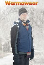 Men's Battery Heated Hooded Waistcoat Jacket - by Warmawear™