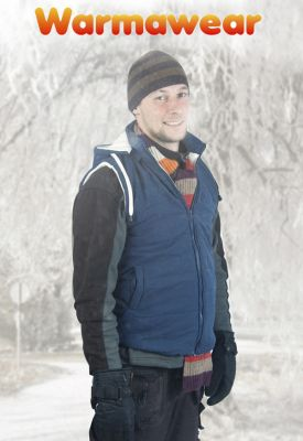 Warmawear™ Men's Battery Heated Hooded Gilet
