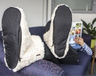 Warmawear™ Dual Fuel Battery Heated Indoor Slipper Boots