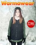 Warmawear™ Ladies' Battery Heated Hooded Black Gilet with Free Heat Packs