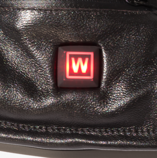 Dual Fuel Burst Power Battery Heated Genuine Leather Gloves - 3 Settings - by Warmawear™