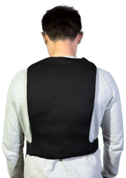 Unisex Battery Heated Under Vest with Three Heat Settings - by Warmawear™