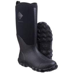 Edgewater II Black Unisex Tall Wellington Boots by Muck Boot - Sizes 4-13