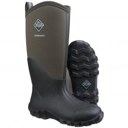Edgewater II Moss Unisex Tall Wellington Boots by Muck Boot - Sizes 4-13