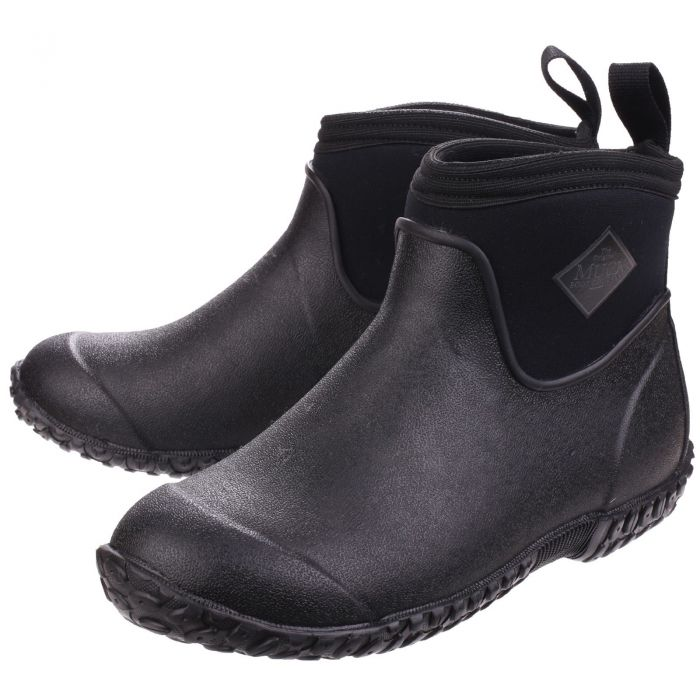 Muckster Ii Black Men S Ankle Wellington Boot By Muck Boot