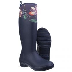 Tremont / B&B Passiflora RHS Print Women's Wellington Boot by Muck Boot - Sizes 3-9