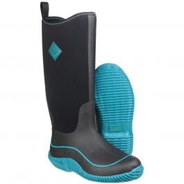 Hale Black / Harbour Blue Women's Wellington Boot by Muck Boot - Sizes 3-9