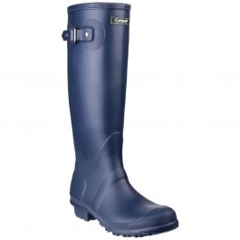 Sandringham Navy Women's PVC Wellington by Cotswold - Sizes 3-9