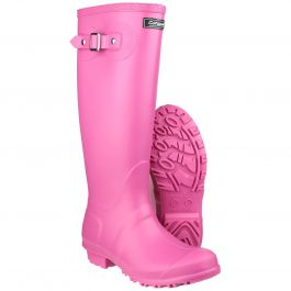 Sandringham Fuchsia Women's PVC Wellington by Cotswold - Sizes 3-9