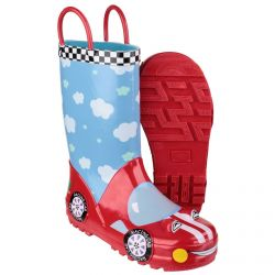 Puddle Boot Racer Children's PVC Wellington by Cotswold - Sizes 4.5 - 13