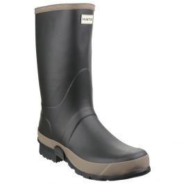 Women's Dark Olive/Clay Gardener Wellington By Hunter - Sizes 3 - 12